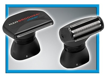 MANGROOMER Lithium Max Back Shaver with 2 Shock Absorber Flex Heads, Power Hinge, Extreme Reach Handle and Power Burst - 4