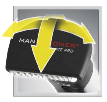 MANGROOMER Ultimate Pro Back Shaver with 2 Shock Absorber Flex Heads, Power Hinge, Extreme Reach Handle and Power Burst by Mangroomer (Marut Enterprises, LLC) - 11