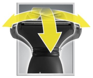 MANGROOMER Ultimate Pro Back Shaver with 2 Shock Absorber Flex Heads, Power Hinge, Extreme Reach Handle and Power Burst by Mangroomer (Marut Enterprises, LLC) - 12