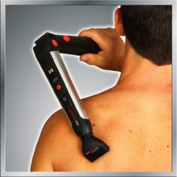 MANGROOMER Ultimate Pro Back Shaver with 2 Shock Absorber Flex Heads, Power Hinge, Extreme Reach Handle and Power Burst by Mangroomer (Marut Enterprises, LLC) - 7