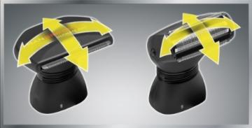 MANGROOMER Ultimate Pro Back Shaver with 2 Shock Absorber Flex Heads, Power Hinge, Extreme Reach Handle and Power Burst by Mangroomer (Marut Enterprises, LLC) - 10