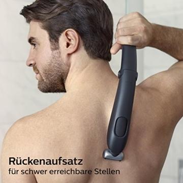 Philips Bodygroom Series 5000 mit Aufsatz für Rückenhaarentfernung BG5020/15 (inkl. 3 Kammaufsätze) - 2