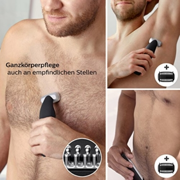 Philips Bodygroom Series 5000 mit Aufsatz für Rückenhaarentfernung BG5020/15 (inkl. 3 Kammaufsätze) - 3