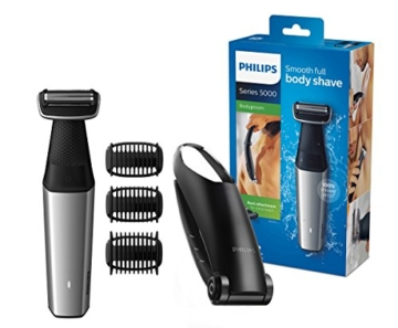 Philips Bodygroom Series 5000 mit Aufsatz für Rückenhaarentfernung BG5020/15 (inkl. 3 Kammaufsätze) - 1
