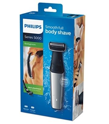 Philips Bodygroom Series 5000 mit Aufsatz für Rückenhaarentfernung BG5020/15 (inkl. 3 Kammaufsätze) - 6