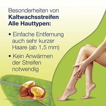 Kaltwachsstreifen 3er Pack Beine und Körper für alle Hauttypen für einfache Haarentfernung auch bei sehr kurzen Haaren Veet Kaltwachsstreifen Alle Hauttypen 3x20 Stück - 5